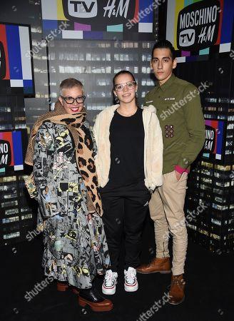Editorial photo of Moschino x H&M Fashion Show, New York, USA - 24 Oct 2018
