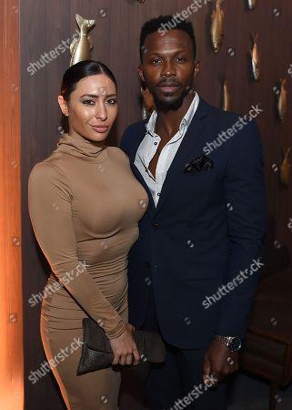 Karlee Perez and Emmanuel Kabongo