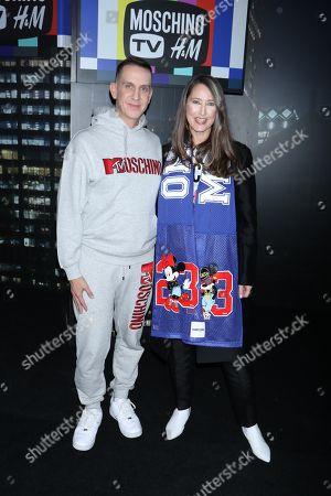 Editorial photo of Moschino x H&M show, New York, USA - 24 Oct 2018