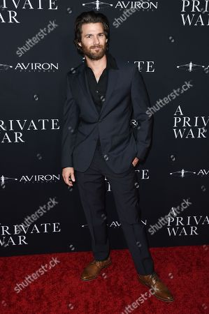 Editorial image of 'A Private War' film premiere, Los Angeles, USA - 24 Oct 2018