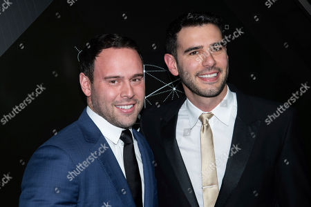 Scooter Braun, Adam Braun. Scooter Braun, left, and Adam Braun attend the 10th anniversary Pencils of Promise gala at the Duggal Greenhouse, in New York