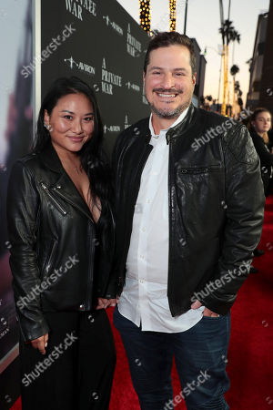 Editorial image of Aviron Pictures film premiere of 'A Private War' at Samuel Goldwyn Theater, Los Angeles, USA - 24 Oct 2018