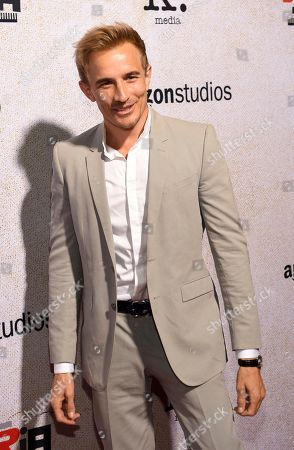 """Jesse Johnson poses at the premiere of the film """"Suspiria"""" at the ArcLight Hollywood, in Los Angeles"""