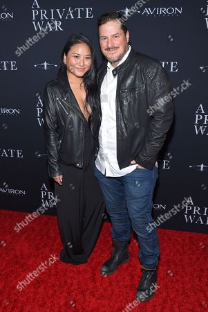 Editorial picture of 'A Private War' film premiere, Los Angeles, USA - 24 Oct 2018