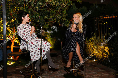 Stock Picture of Kelly Oxford and Busy Philipps