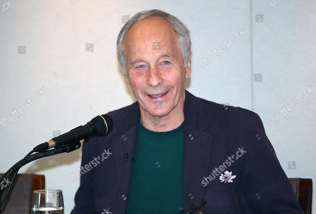 US writer Richard Ford, recipient of the 8th Park Kyong-ni Literary Prize, answers questions during a press meeting in Seoul, South Korea, 25 October 2018. The prize was established in 2011 in remembrance of the late South Korean novelist whose name it bears.