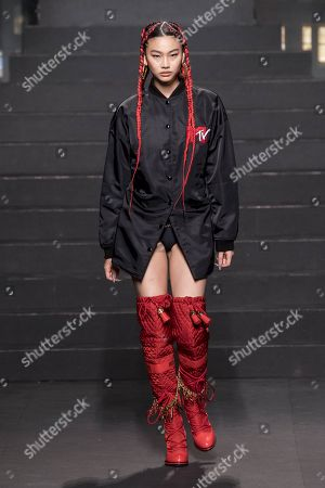 Editorial image of Moschino x H&M show, Runway, New York, USA - 24 Oct 2018