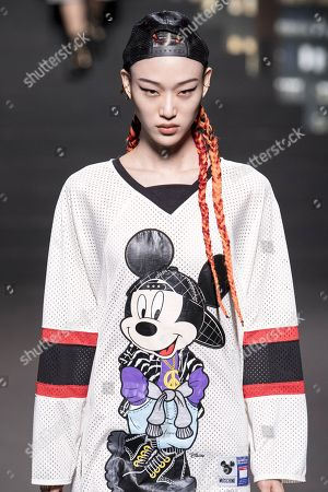 Stock Photo of Sora Choi on the catwalk