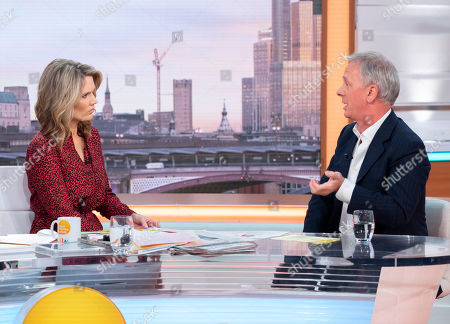 Charlotte Hawkins and Peter Fincham