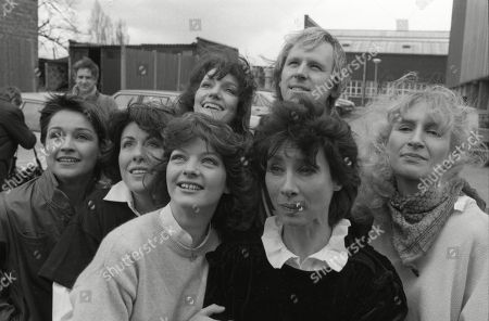 Louise Jameson, who played Leela (1977-78), Carole Ann Ford, who played Susan (1963-64), Caroline John, who played Liz Shaw (1970), Peter Davison, who played the Fifth Doctor (1981-1984), Sarah Sutton, who played Nyssa (1981-1983), Elizabeth Sladen, who played Sarah Jane Smith (1973-1976), Janet Fielding, who played Tegan Jovenka (1981-1984).