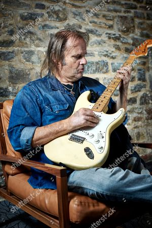 Bristol United Kingdom - October 20: Portrait Of American Blues Musician Walter Trout Photographed In Bristol On October 20