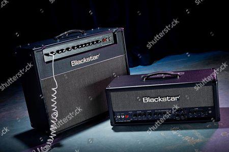 A Blackstar Ht Venue Mark Ii Club 40 Combo Amplifier (L) And A Blackstar Ht Venue Mark Ii Stage 100 Amp Head
