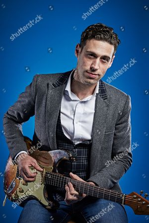 Bath United Kingdom - November 13: Portrait Of South African Blues Rock Musician Dan Patlansky Photographed In Bath England On November 13