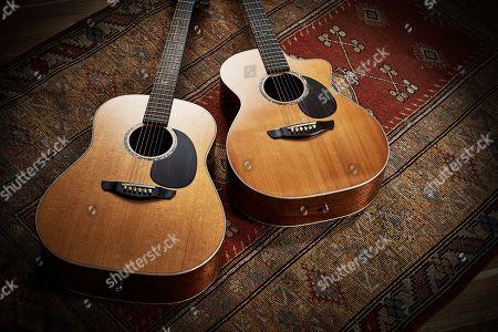 A Pair Of Faith Pje Legacy Series Electro-acoustic Guitars Including A Faith Pje Legacy Earth (L) And Faith Pje Legacy Mars