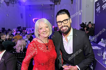 Dame Mary Perkins and Rylan Clark