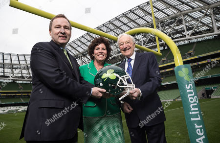 Editorial photo of Announcement Of The Aer Lingus College Football Series, Dublin  - 25 Oct 2018