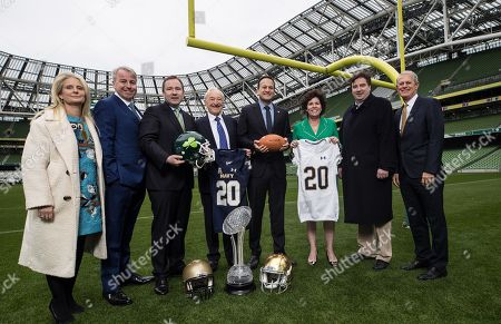 Editorial image of Announcement Of The Aer Lingus College Football Series, Dublin  - 25 Oct 2018