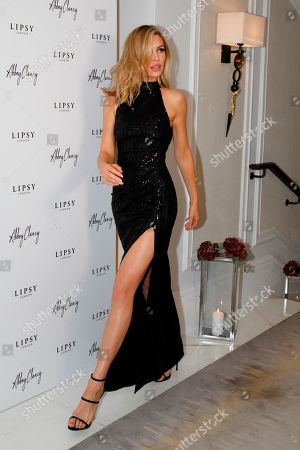 Lipsy X Abbey Clancy Event London Stock Photos Exclusive