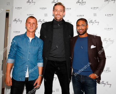 Steve Sidwell, Peter Crouch & Glen Johnson