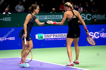 Editorial image of BNP Paribas WTA Finals, Singapore - 25 Oct 2018