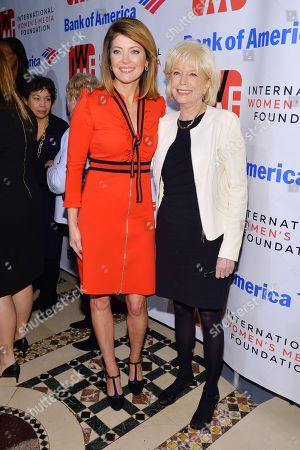 Norah O'Donnell and Lesley Stahl