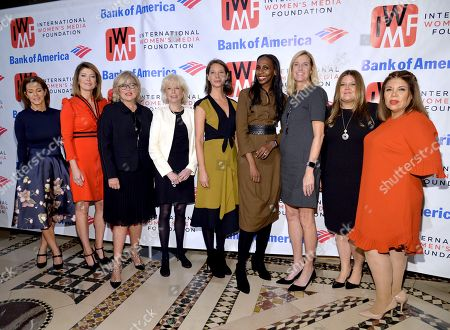 Stephanie Ruhle, Norah O'Donnell, Cynthia McFadden, Lesley Stahl, Christy Turlington, Guest, Andrea B. Smith and Guests