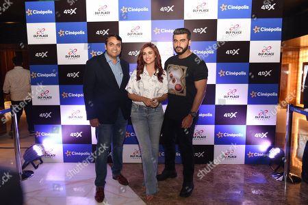 Arjun Kapoor, Parineeti Chopra and Devang Sampat