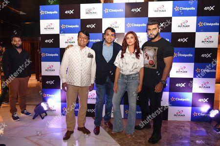 Guest, Arjun Kapoor, Parineeti Chopra and Devang Sampat