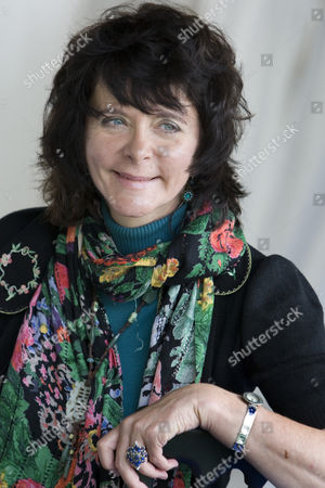 Stock Image of Acclaimed, and controversial poet, Ruth Padel, (great-great-granddaughter of Charles Darwin)