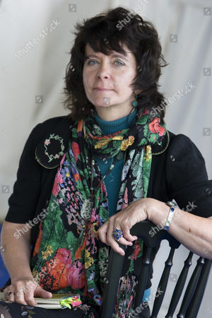 Stock Photo of Acclaimed, and controversial poet, Ruth Padel, (great-great-granddaughter of Charles Darwin)