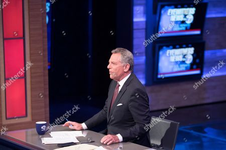 WABC Anchor Bill Ritter moderates the New York State Senate debate hosted by WABC-TV, in New York