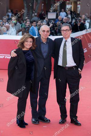 Giuseppe Tornatore with Piera Detassis and Antonio Monda