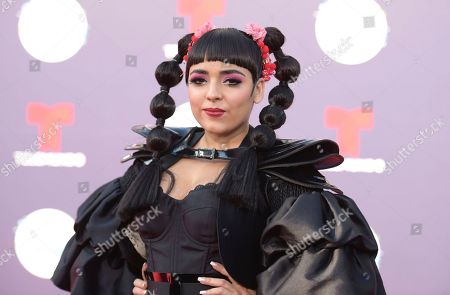 Editorial photo of 2018 Latin American Music Awards - Arrivals, Los Angeles, USA - 25 Oct 2018
