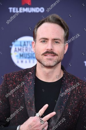 Erik Hayser arrives at the Latin American Music Awards at the Dolby Theatre, in Los Angeles