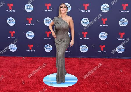 Editorial image of 2018 Latin American Music Awards - Arrivals, Los Angeles, USA - 25 Oct 2018