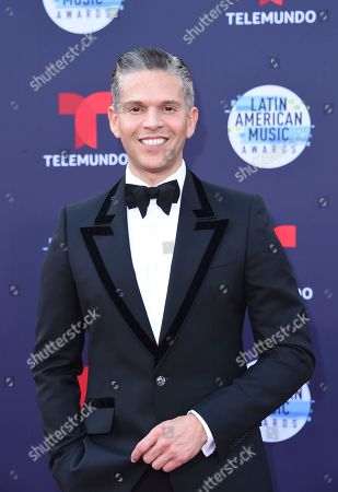 Rodner Figueroa arrives at the Latin American Music Awards at the Dolby Theatre, in Los Angeles