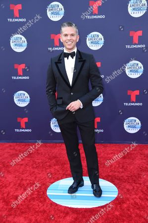 Stock Image of Rodner Figueroa arrives at the Latin American Music Awards at the Dolby Theatre, in Los Angeles