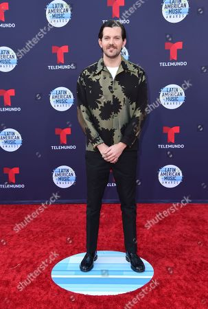 Dillon Francis arrives at the Latin American Music Awards at the Dolby Theatre, in Los Angeles
