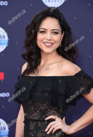 Alyssa Diaz arrives at the Latin American Music Awards at the Dolby Theatre, in Los Angeles