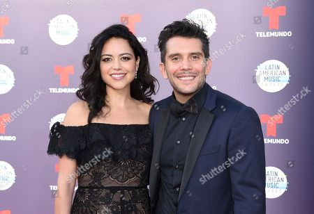 Alyssa Diaz, Gustavo Galindo. Alyssa Diaz, left, and Gustavo Galindo arrive at the Latin American Music Awards at the Dolby Theatre, in Los Angeles