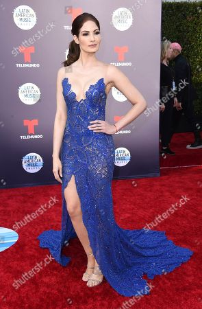 Stock Photo of Cynthia Olavarria arrives at the Latin American Music Awards at the Dolby Theatre, in Los Angeles