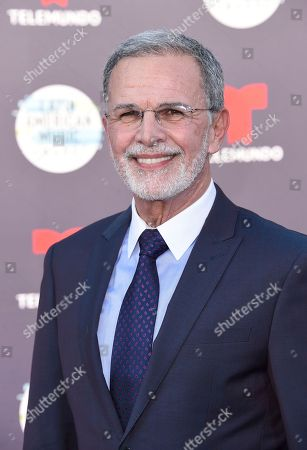Tony Plana arrives at the Latin American Music Awards at the Dolby Theatre, in Los Angeles