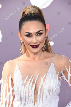 Aracely Arambula arrives at the Latin American Music Awards at the Dolby Theatre, in Los Angeles