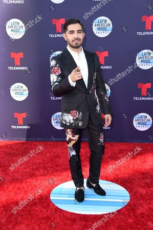 Joss Favela arrives at the Latin American Music Awards at the Dolby Theatre, in Los Angeles