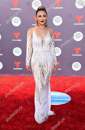Stock Photo of Aracely Arambula arrives at the Latin American Music Awards at the Dolby Theatre, in Los Angeles