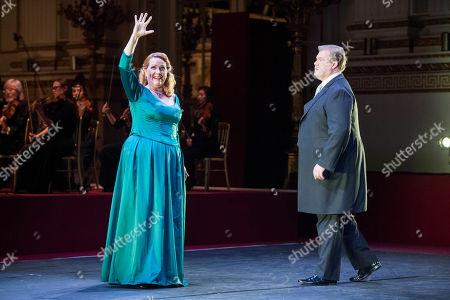 Emily Magee and Stuart Skelton performing Richard Wagner Act 1 Scene 3 of Die Walkure