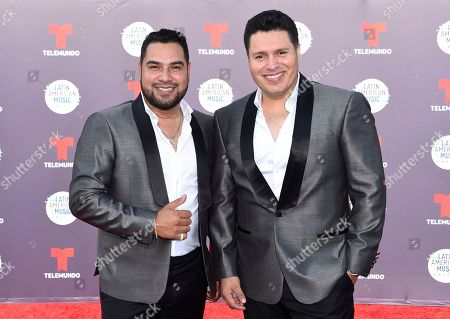 Alan Manuel Ramirez Salcido, Sergio Lizarraga. Alan Manuel Ramirez Salcido, left, and Sergio Lizarraga arrive at the Latin American Music Awards at the Dolby Theatre, in Los Angeles