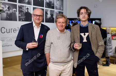 Stock Photo of Charles Kirwan-Taylor, John Pawson and Ivan Kirwan-Taylor