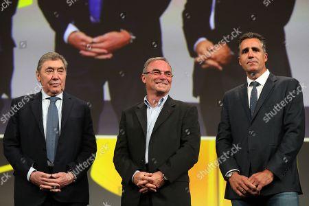 Eddy Merckx, Bernard Hinault, Miguel Indurain