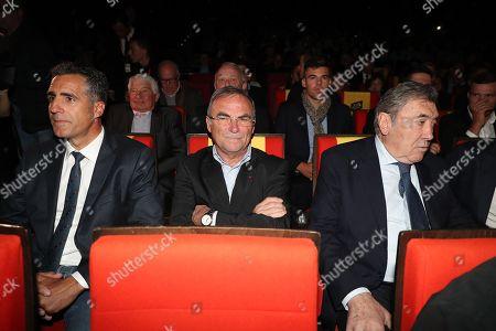 Miguel Indurain, Bernard Hinault, Eddy Merckx